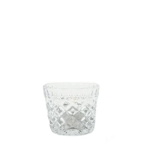 Pressed Glass Tealight