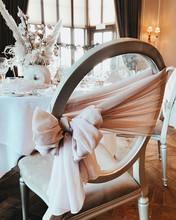 Wedding Chair Bow