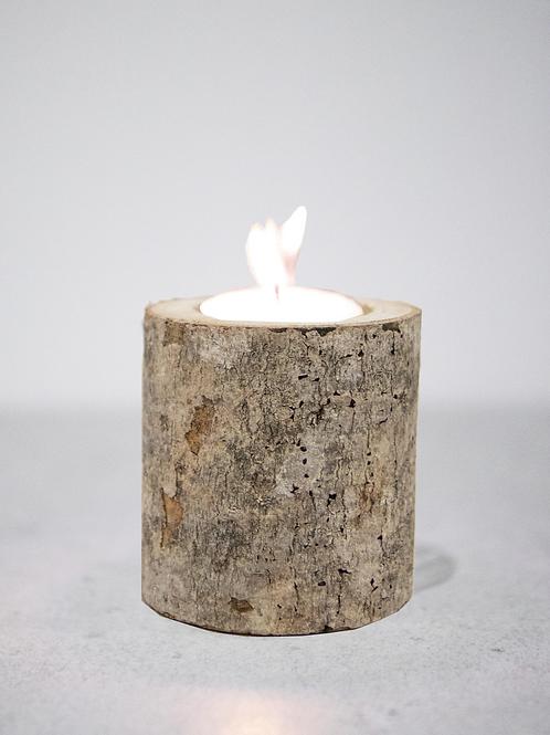 Birch Wooden Tealight
