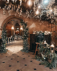 Archway at Matfen Hall