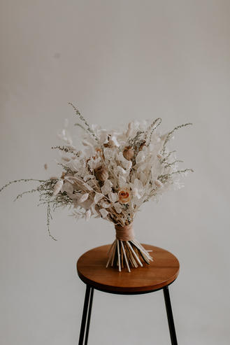Dried Bridal Flowers