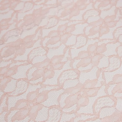 Pink Lace Tablecloth