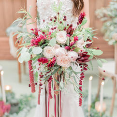 Red/Burgundy Bouquets
