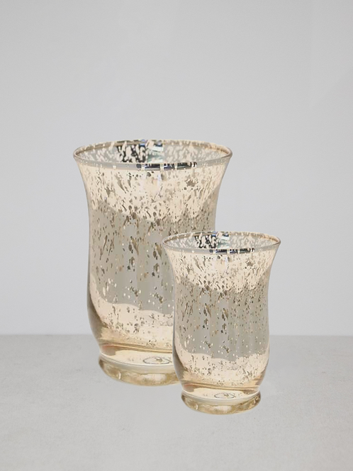Gold Hurricane Vases