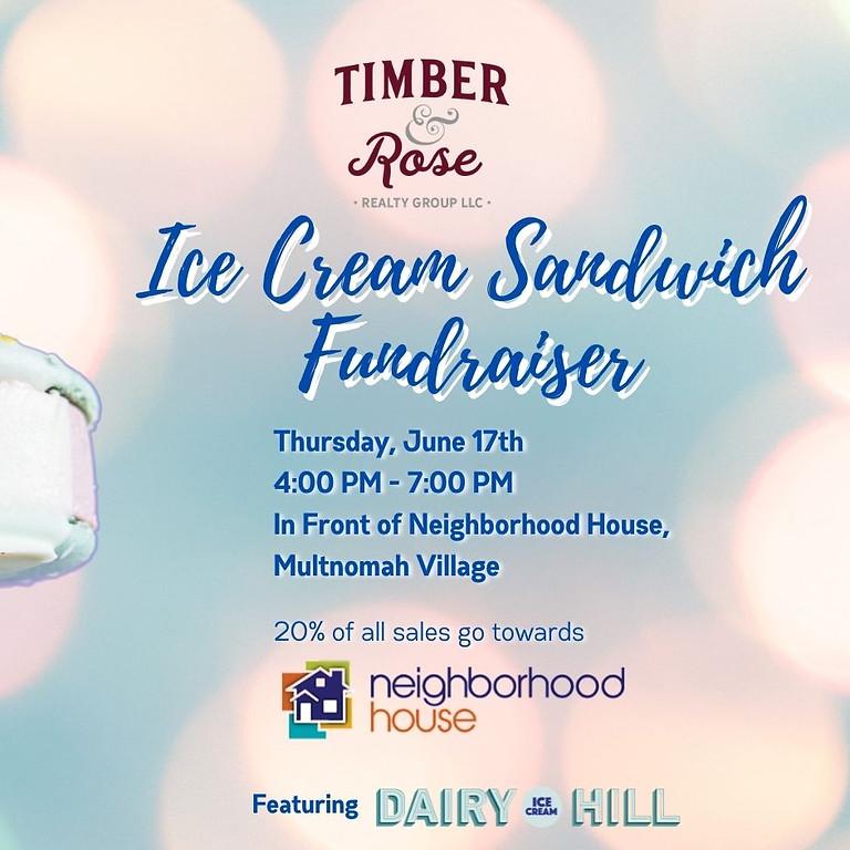 Ice Cream Sandwich Fundraiser
