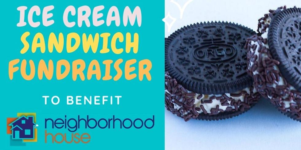 Summer Ice Cream Sandwich Fundraiser