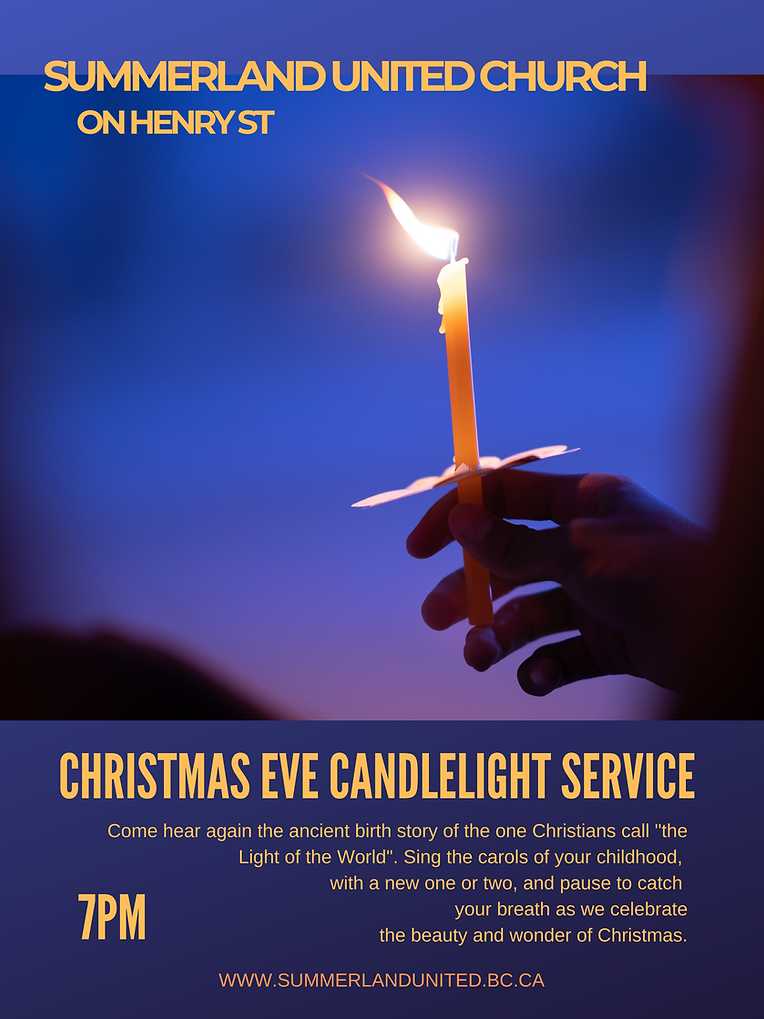 Christmas Eve candlelight service 7pm.pn