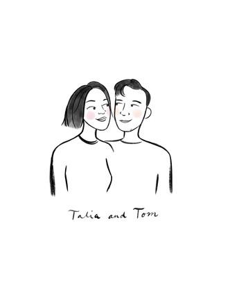 Talia + Tom