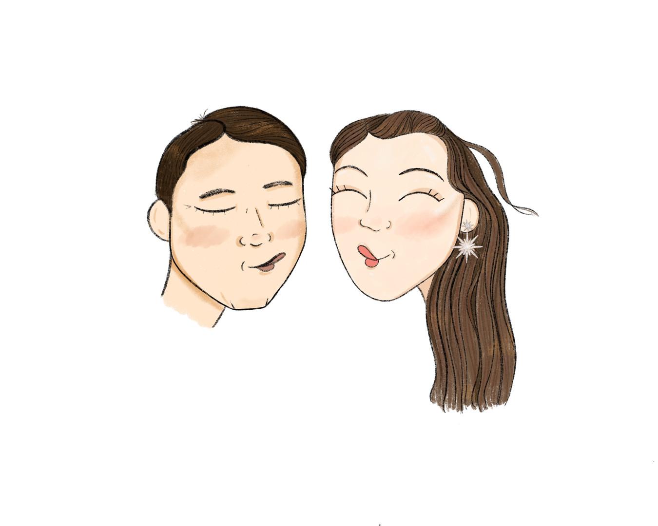 Mr. and Mrs. Avnet