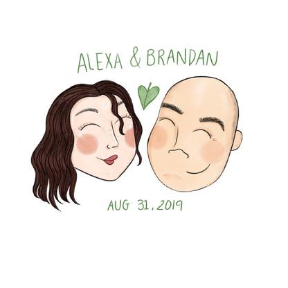 Alexa + Brandan