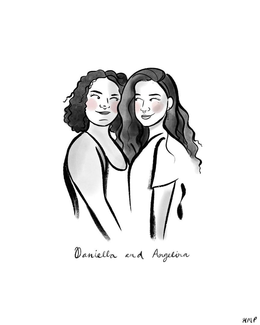 Daniella + Angelina