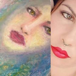 Portrait of Renata Caixeta, 2020.