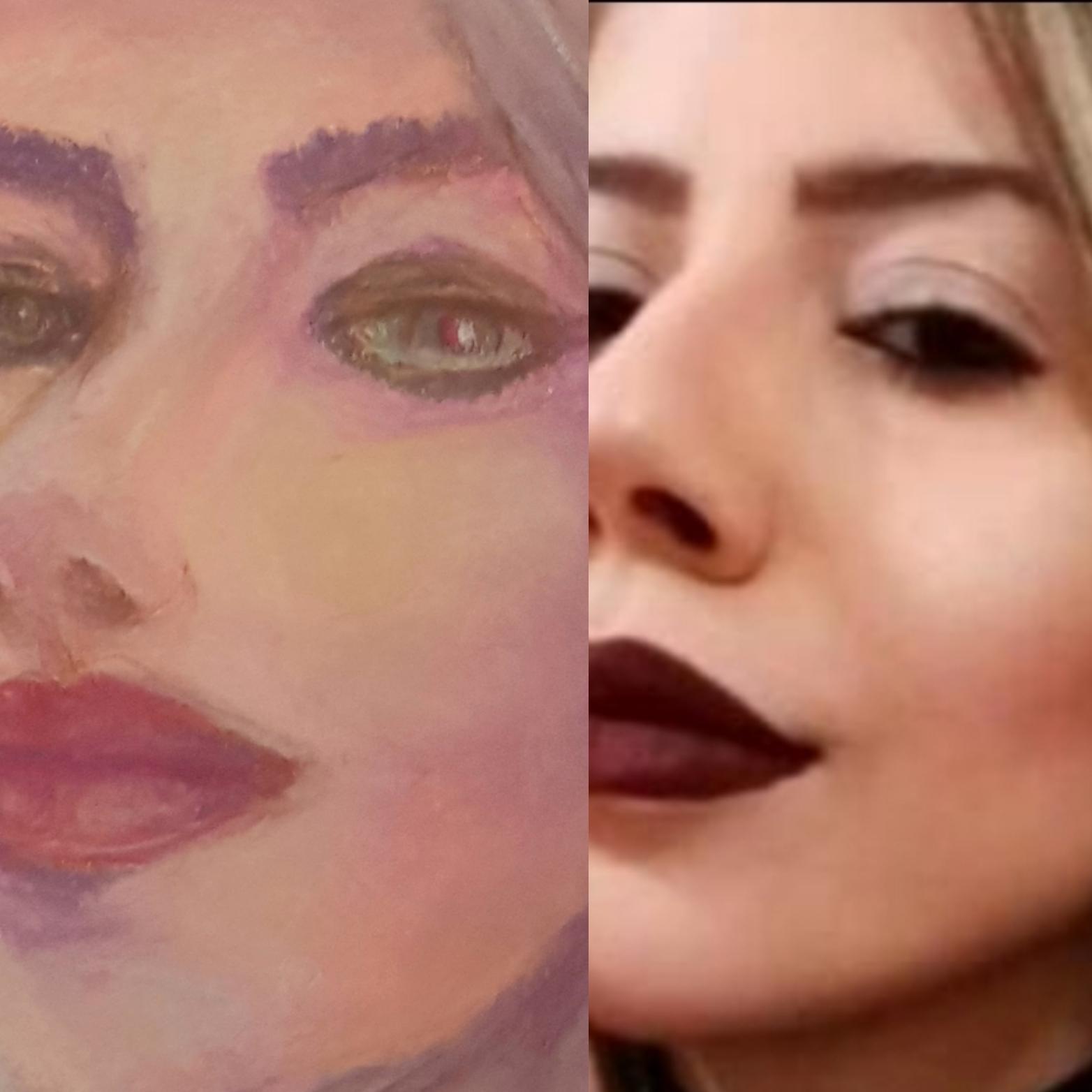 Portrait of Cristiani Telles