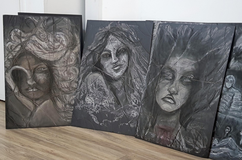 Triptych - La Lunatique