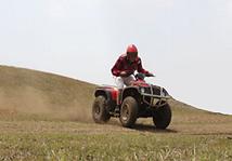 훈누캠프 ATV 체험
