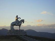 칭기스칸 동상