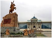 칭기스칸 광장