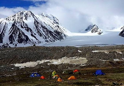 Altai Tavan Bogd Base camp