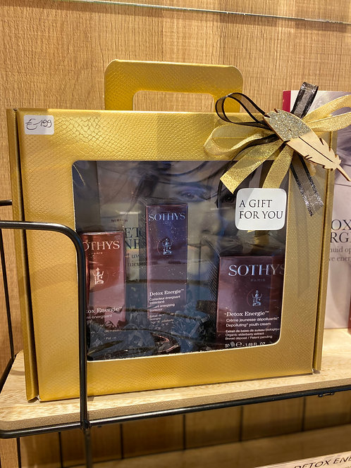 geschenkpakket Détox Energie crème+serum+essence