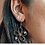 Thumbnail: oorbellen bloem goud