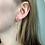 Thumbnail: oorbellen lang, goud