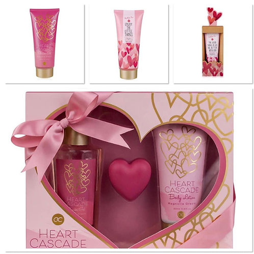 geschenkpakket hart cascade badset bodylotion & body showergel