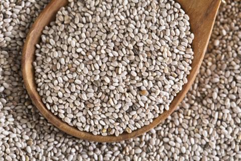 זרעי צ'יה לבנה - י.ג.נ