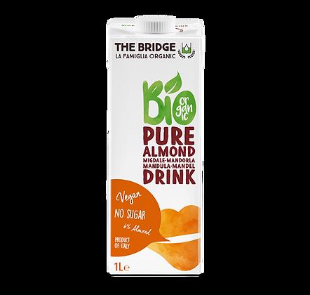משקה שקדים אורגני 6% - דה ברידג`