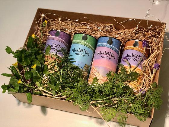 מארז מתנה - תה טעם הארץ