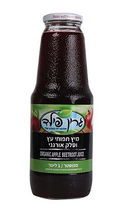 מיץ תפוח וסלק אורגני - גרין פילד