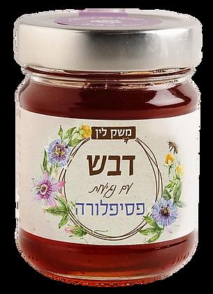 דבש עם נגיעות פסיפלורה -משק לין