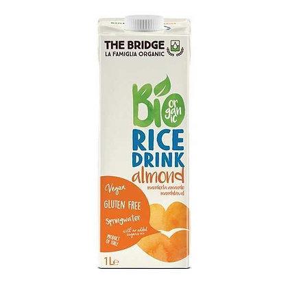 משקה אורז ושקדים אורגני - דה ברידג`