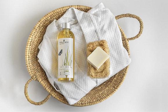 סבון נוזלי בריח עשב לימון - טבע הגליל