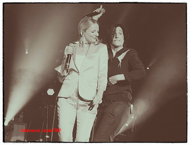 Clare Grogan and Sharleen Spiteri