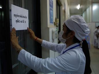 【2月10日(水)】カンボジア、ワクチン接種を開始