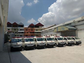 日本政府、救急車30台をカンボジアに追加提供(7月17日)