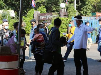 【2月16日(火)】カンボジア、新型コロナ感染率の低さは世界3位