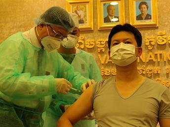 【2月12日(金)】カンボジアのコロナ感染者479人に