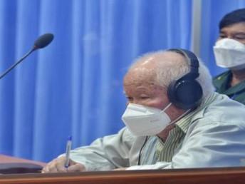 ポル・ポト派特別法廷、キュー・サンパン被告の上級審が結審(8月22日)