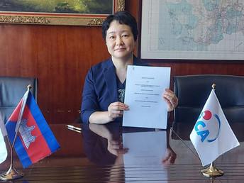 JICAカンボジア、保健省との「COVID-19対応能力強化プロジェクト」開始に合意(7月7日)