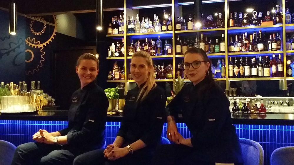 Viktoria, Meike und Julia