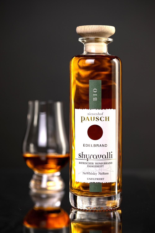 Die 0,35-Liter-Flasche Shyravalli