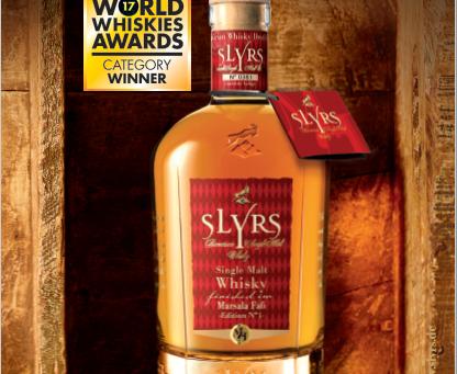 World Whiskies Awards: SLYRS erneut im Goldrausch!