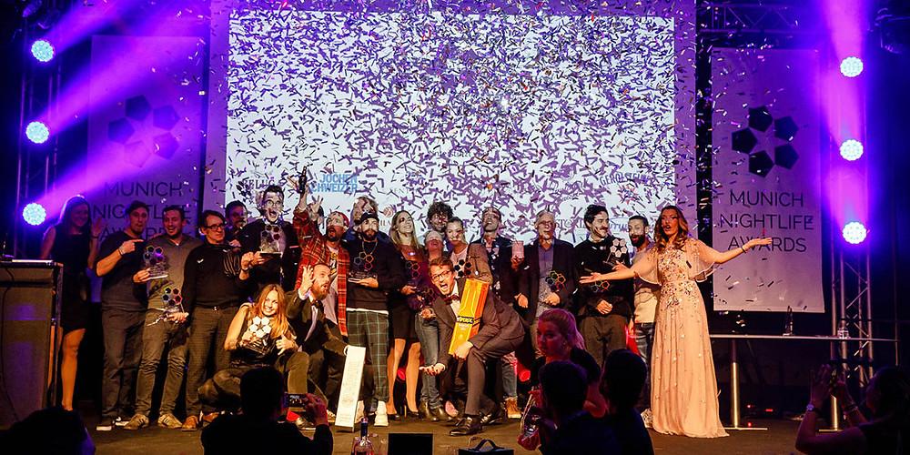 Die Gewinner 2018 auf der Bühne