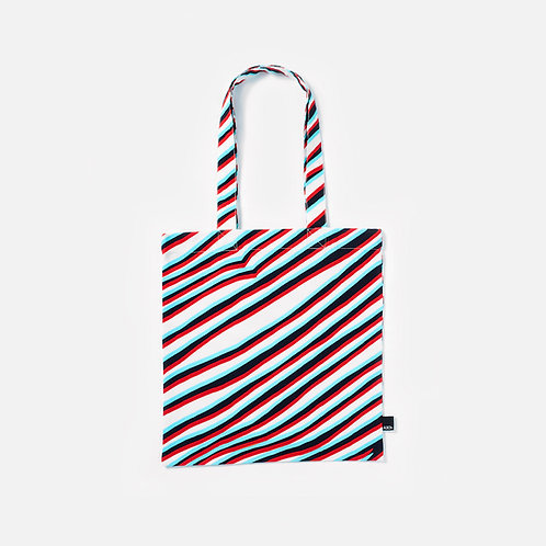 Anaglyphic Pleated skirt - Tote bag