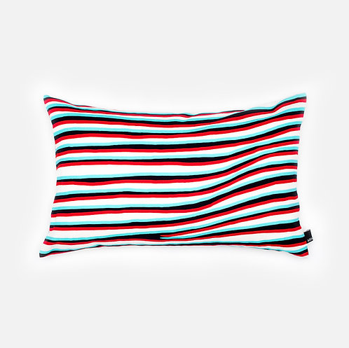 Anaglyphic Pleated skirt - Cushion cover