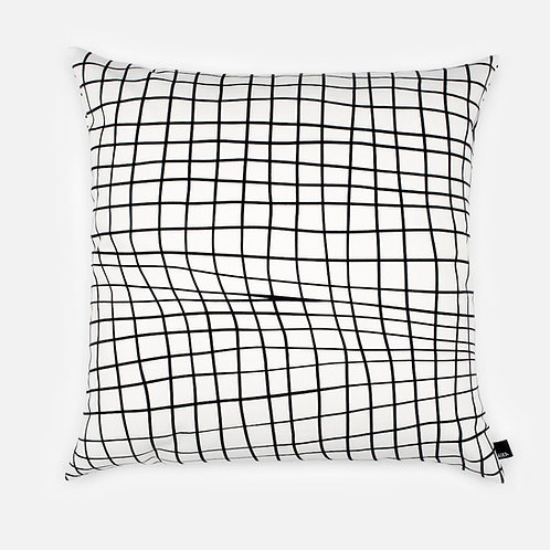 Folded grid paper - Cushion cover