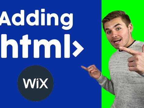 How To Build A Wix Website - Adding HTML Code To Wix - Wix.com Tutorial For Beginners (2020)