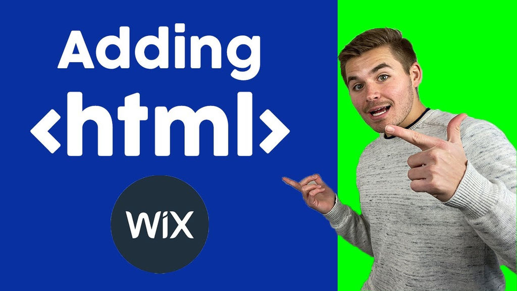 How To Build A Wix Website Adding Html Code To Wix Wix Com Tutorial For Beginners 2020
