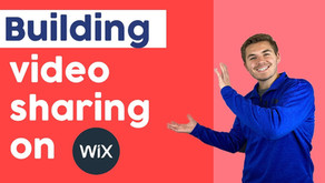 How To Build A Video Sharing Website in Wix   Corvid by Wix.com Tutorial